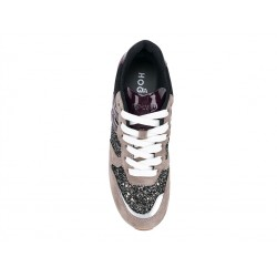 hogan promotions sneakers SneakersREBEL FLY FHIV - NUBUCK ET PAILL