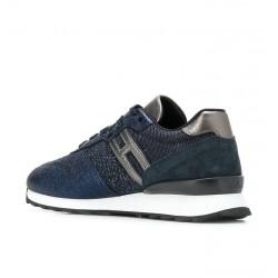 hogan promotions sneakers SneakersREBEL FLY FHIV - CUIR IRISÉ ET T