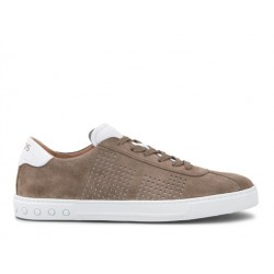 tod's promotions sneakers SneakersSPORT 3 - NUBUCK PERFORÉ - TAUPE