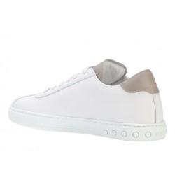 tod's promotions sneakers SneakersSPORT TODS - CUIR - BLANC ET LOG