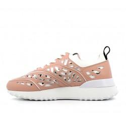 tod's promotions sneakers SneakersRUNINGA - CUIR PERFORÉ - BLANC E