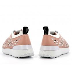 tod's sneakers SneakersRUNINGA - CUIR PERFORÉ - BLANC E