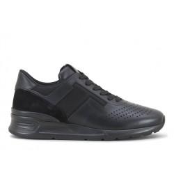 tod's nouveautés sneakers SneakersRUN NEW BAS - CUIR ET TOILE - NO