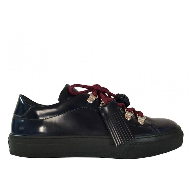 tod's sneakers SneakersTIMA MONT - CUIR - MARINE