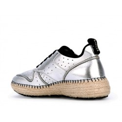 tod's promotions sneakers SneakersTODCORD - CUIR - ARGENT