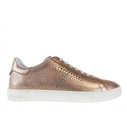 tod's promotions sneakers SneakersTIMA T - CUIR IRISÉ - PÊCHE