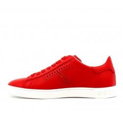 tod's sneakers SneakersTIMA T - CUIR - ROUGE