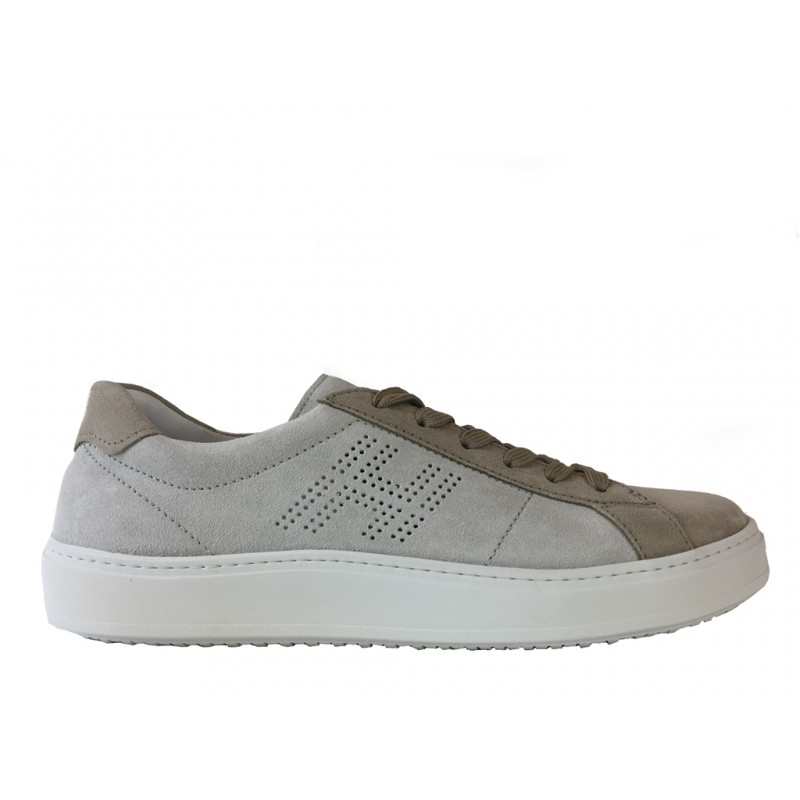 hogan promotions sneakers SneakersSTANY - NUBUCK BICOLORE - BEIGE