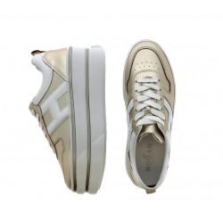 hogan promotions sneakers Sneakers CapsuleSPORTA F CAPSULE - CUIR MÉTALLIS