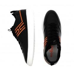 hogan promotions sneakers SneakersSTAN CHAUSS - CUIR - NOIR ET ORA