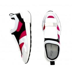 sergio rossi promotions sneakers Sneakers SR1SR RUNNING2 - CUIR ET NÉOPRÈNE -