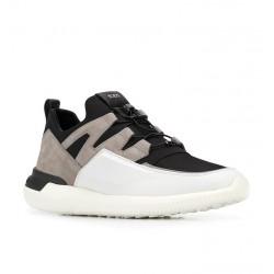 tod's sneakers SneakersTODRUN GILI 3 - NUBUCK, TOILE, C
