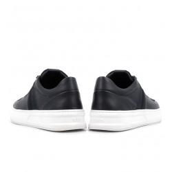tod's nouveautés sneakers SneakersSPOT 2 - CUIR ET TOILE - MARINE