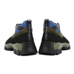 tod's promotions sneakers SneakersTODTRECK - CUIR, NUBUCK ET TOILE