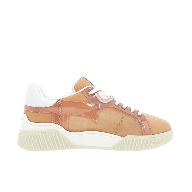 tod's sneakers SneakersTIMA CASSETA - TOILE ET PLEXI -