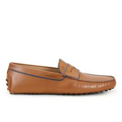 tod's mocassins et slippers Mocassins GomminoGOMMINI 2 - CUIR - FAUVE ET LISE