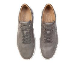 tod's nouveautés sneakers SneakersSPOT 2 - CUIR GRAINÉ - GRIS CLAI