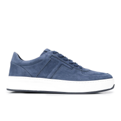 tod's nouveautés sneakers SneakersSPOT 2 - NUBUCK - BLEU CLAIR