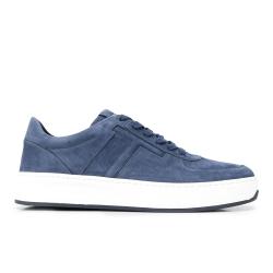 tod's sneakers SneakersSPOT 2 - NUBUCK - BLEU CLAIR