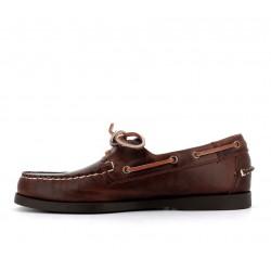 sebago chaussures bateau dockside waxed portlDOCKSIDE WAXED PORTL - CUIR WAXE