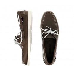 sebago nouveautés chaussures bateau dockside waxed portlDOCKSIDE WAXED PORTL - CUIR WAXE