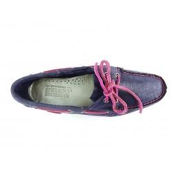 sebago promotions chaussures bateau DocksidesDOCK FEM NUB - NUBUCK IRISÉ - MA