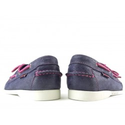 sebago promotions chaussures bateau dock fem nubDOCK FEM NUB - NUBUCK IRISÉ - MA
