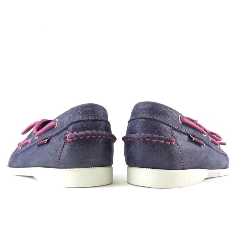 sebago chaussures bateau DocksidesDOCK FEM NUB - NUBUCK IRISÉ - MA