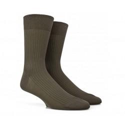 doré doré chaussettes mollet Chaussettes côteléesDD CÔTELÉE - COTON FIL D'ECOSSE