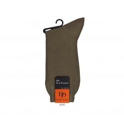 doré doré chaussettes mollet Chaussettes cotonDD CÔTELÉE - COTON FIL D'ECOSSE