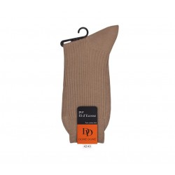 doré doré chaussettes Chaussettes côteléesDD CÔTELÉE - COTON FIL D'ECOSSE