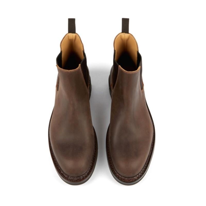 Heschung promotions boots et bottillons trembleTREMBLE - CUIR - MORO
