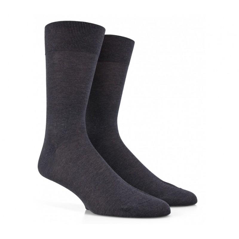 doré doré chaussettes mollet Chaussettes en maille unieDD MAILLE - COTON FIL D'ECOSSE -