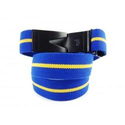 tod's nouveautés ceintures ceinture todsCEINTURE TODS - TOILE - BLEU ET