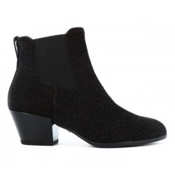 hogan bottines Bottines TexanoEXA 4 - GALAXY LUREX - NOIR