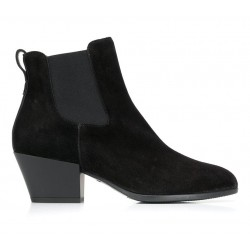 hogan bottines Bottines TexanoEXA 4 - NUBUCK - NOIR