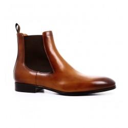 santoni nouveautés boots et bottillons BottinesSIRANO - ROYAL CALF - GOLD