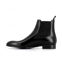 santoni nouveautés boots et bottillons BottinesSIRANO - ROYAL CALF - NOIR
