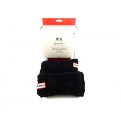hunter chaussettes mollet chauss hunterCHAUSS HUNTER - LAINE - NOIR