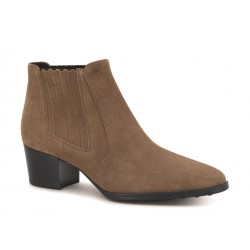 tod's promotions bottines tex 2TEX 2 - NUBUCK - NOISETTE