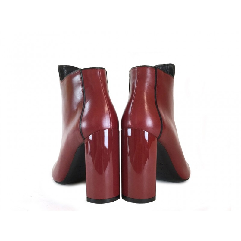 pierre hardy bottines phf boots bellePHF BOOTS BELLE - CUIR - ROUGE