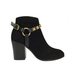 giuseppe zanotti promotions bottines gz f boot or t8GZ F BOOT OR T8 - NUBUCK - NOIR