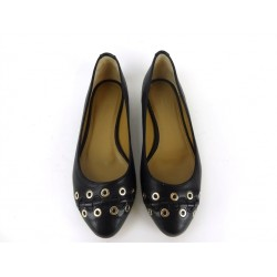 sonia rykiel promotions ballerines ry ball rivetsRY BALL RIVETS - CUIR - NOIR