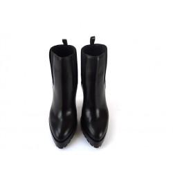 Casadei promotions bottines casa boots cdo t10CASA BOOTS CDO T10 - CUIR - NOIR