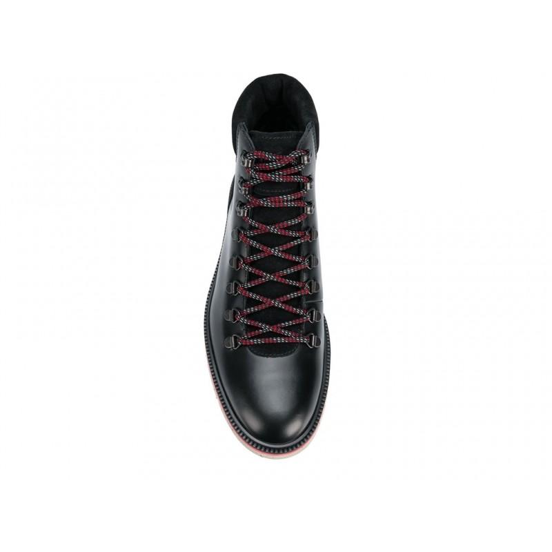 hogan promotions boots et bottillons treckoTRECKO - CUIR - NOIR