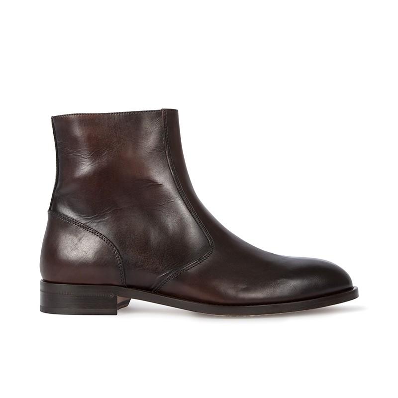 paul smith boots et bottillons ps boots pemburyPS BOOTS PEMBURY - CUIR - MARRON