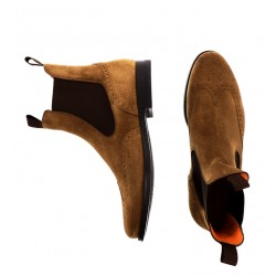 santoni promotions boots et bottillons marboMARBO - NUBUCK - TAUPE