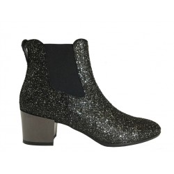 hogan promotions bottines exa 3EXA 3 - CUIR ET PAILLETTES - OR