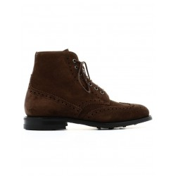 church's promotions boots et bottillons renwickRENWICK - SUEDE - BROWN