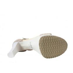 hogan sandales anie t9ANIE T9 - NUBUCK - BEIGE